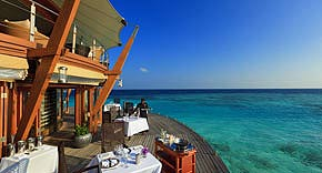 Lighthouse Restaurant, Hotel Baros Maldives