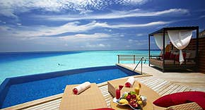 Water Pool Villa, Hotel Baros Maldives