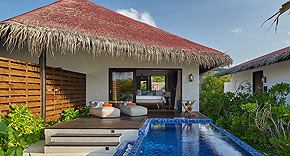 Beach Pool Villa, Grand Park Kodhipparu, Malediven