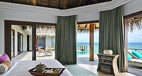 Ocean Water Villa mit Pool, Dusit Thani Maldives