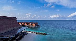 Restaurant The Edge auf Grand Park Kodhipparu, Malediven