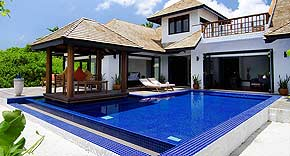 Familien Villa mit Pool, Hideaway Beach Resort & Spa