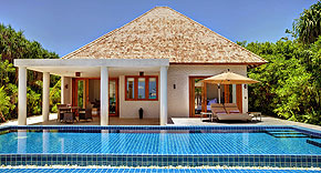 Beach Residenz mit Pool, Hideaway Beach Resort & Spa