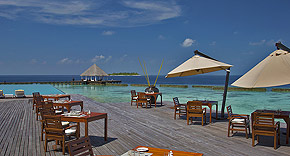 Restaurant Air auf Coco Bodu Hiti, Malediven