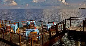 Restaurant Aqua auf Coco Bodu Hiti, Malediven