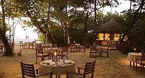 Restaurant Cornus auf Coco Palm Dhuni Kolhu, Malediven
