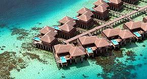 Escape Water Villa auf der Insel Coco Bodu Hiti, Malediven