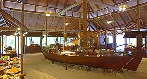 Hauptrestaurant, Filitheyo Island Resort