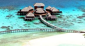 Coco Spa auf Coco Bodu Hiti, Malediven