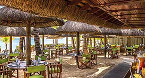 Restaurant La Plage, Dinarobin Golf Resort & Spa