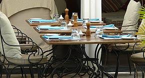 Restaurant La Voile vom 20 Grad Sud, Mauritius
