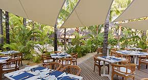 Restaurant Frangipanier, Canonnier Beachcomber Mauritius