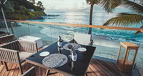 Restaurant Lorizon im Carana Beach Hotel, Mahe