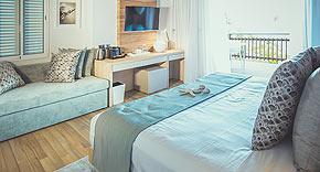 Ocean View Chalet im Carana Beach Hotel, Mahe