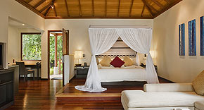 King Deluxe Beachfront Villa mit Pool, Hilton Seychelles Labriz Resort & Spa