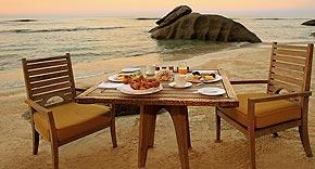 Unique Dining, Maia Luxury Resort & Spa Mahe