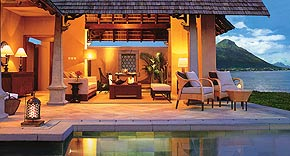 Beachfront Luxury Suite Villa mit Pool vom Maradiva Villas Resort & Spa, Mauritius