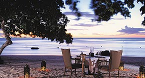 Restaurant On the Rocks vom Oberoi, Mauritius