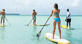 Wassersport beim Paradise Cove Boutique Hotel, Mauritius