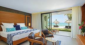 Ocean Beach Front Room, Paradis Beachcomber Mauritius