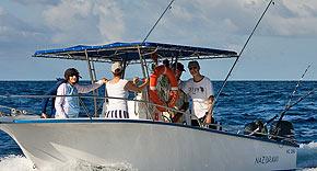 Fliegenfischen auf Bird Island, Seychellen