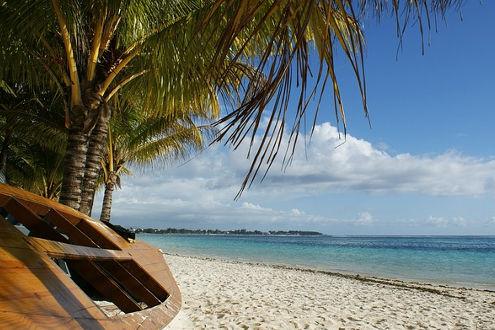 Mauritius wunderschöner Strand