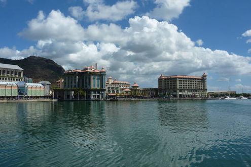 Blick auf die Caudan Waterfront