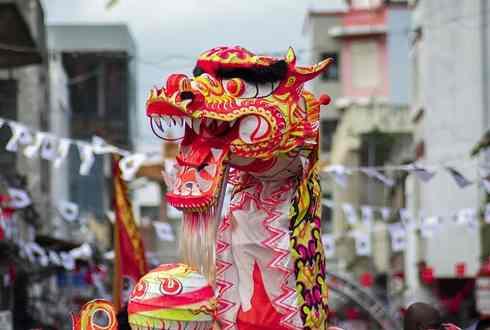 Chinesischens Fest das auf der Insel Mauritius gefeiert wird