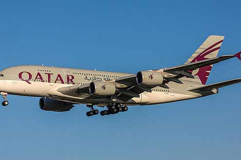 Qatar Aiways mit Abflug ab Zürich auf die Malediven und Seychellen