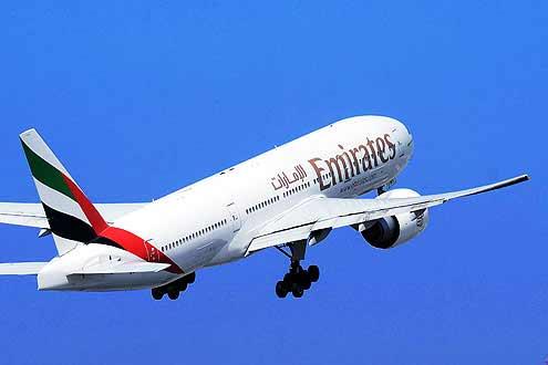 Emirates, beliebte Airline mit Muttersitz Dubai fliegt auf Mauritius, Seychellen, Malediven und Sri Lanka