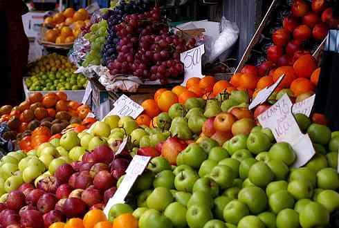Früchte Markt auf Mauritius, immer frisch und lecker