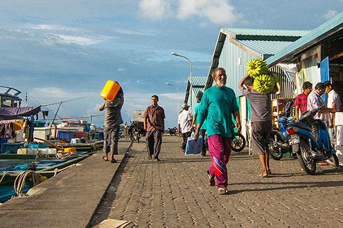 Hafen Male Malediven