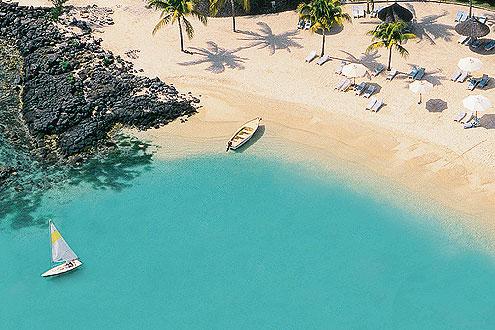Hotel Merville Beach in Grand Baie auf der Insel Mauritius