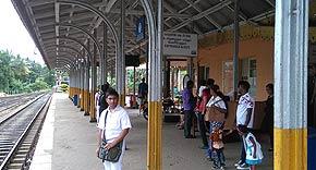 Hauptbahnhof Kandy, Sri Lanka
