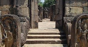 Königspalast in Polonnaruwa, Sri Lanka
