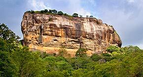 Löwenfels, Sri Lanka