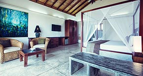 Deluxe Penthouse, Amba Ayurveda Boutique Hotel, Balapitiya Sri Lanka