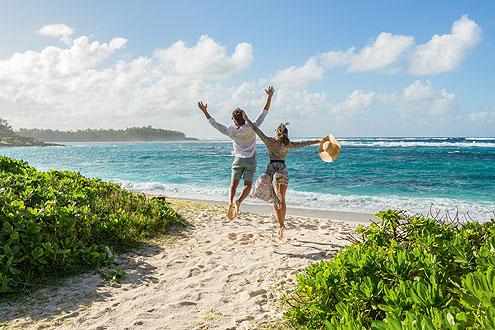 attraktive Angebote für Honeymoon, gratis Aufenthalt für die Braut
