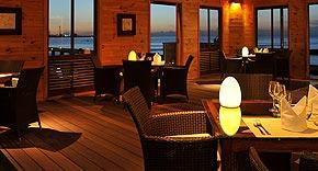 Restaurant Aqua auf der Insel Komandoo