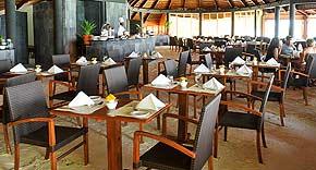 Restaurant Falhu auf der Insel Komandoo