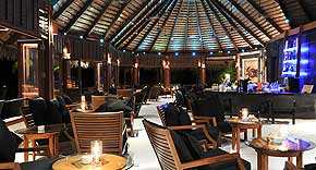 Kandu Bar auf der Insel Komandoo