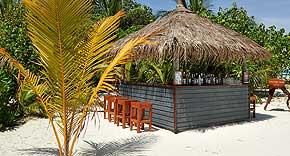 Thundi Bar auf der Insel Komandoo