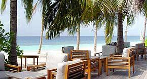 Bar Anba auf der Insel Mirihi, Malediven