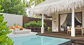 Beach Suite mit Pool auf der Insel Ayada Maldives, Malediven