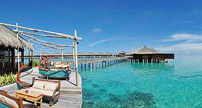 Restaurant Ile de Joie auf der Insel Ayada Maldives, Malediven