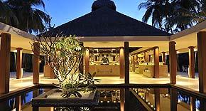 Restaurant Magu auf der Insel Ayada Maldives, Malediven