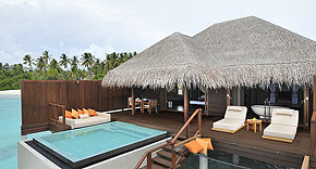 Ocean Villa auf der Insel Ayada Maldives, Malediven