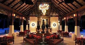 Ottoman Lounge auf der Insel Ayada Maldives, Malediven