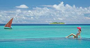 Wassersport auf der Insel Ayada Maldives, Malediven