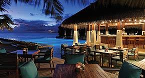 Restaurant Zero Degree auf der Insel Ayada Maldives, Malediven